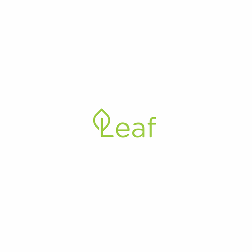 Bank logo with the title 'Leaf'