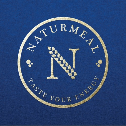 Weight loss logo with the title 'NATURMEAL'