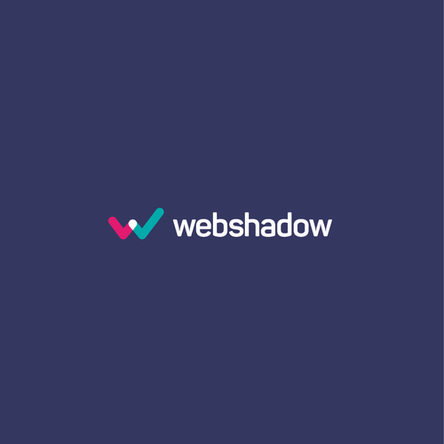 Technology logo with the title 'Webshadow logo'