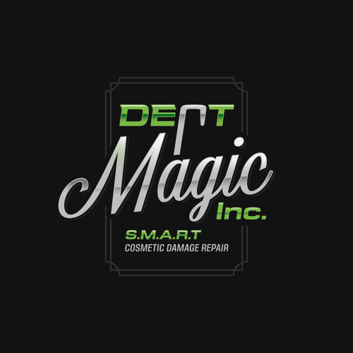 Shine logo with the title 'Dent Magic'