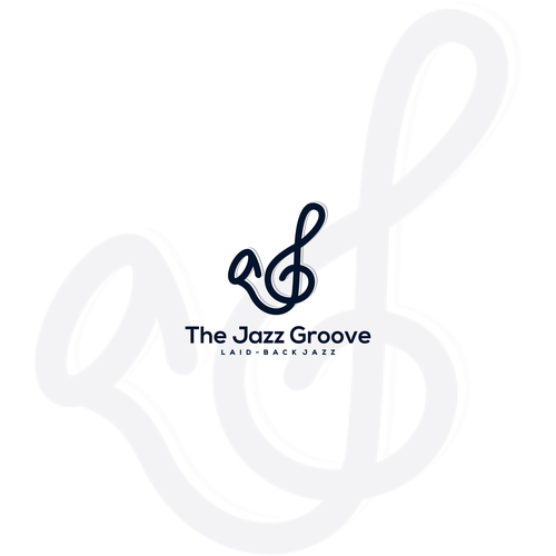 Music note logo with the title 'Captivating, Bold & Artistic Logo Needed For Internet Radio Station: The Jazz Groove'