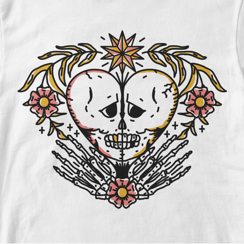 Tattoo t-shirt with the title 'Streetwear Tattoo inspired Tshirt'