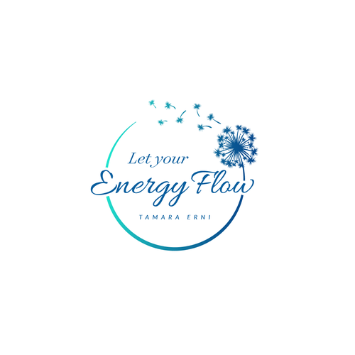 Joyous logo with the title 'Logo Let your Energy Flow'