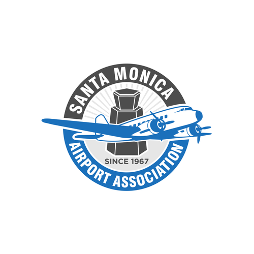 Aircraft logo with the title 'Literal Badge'