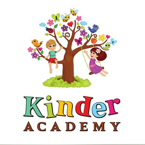 Butterfly logo with the title 'Kinder Academy needs YOU !!'
