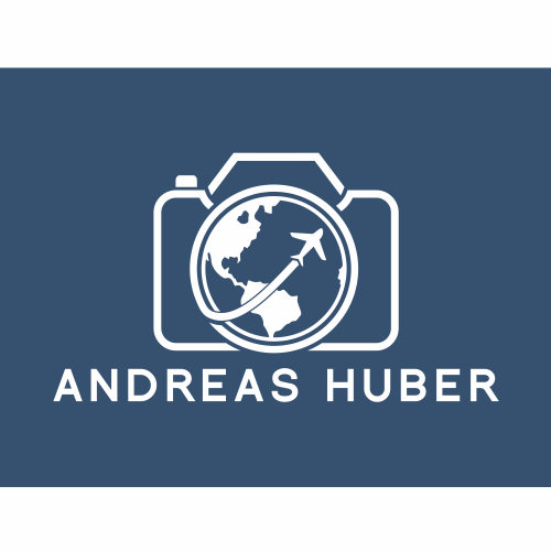 Exotic logo with the title 'Andreas Huber Photography'
