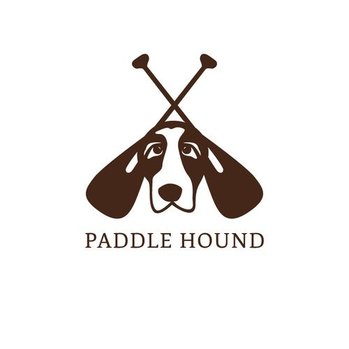 Hound logo with the title 'Paddle Hound Company Launch'