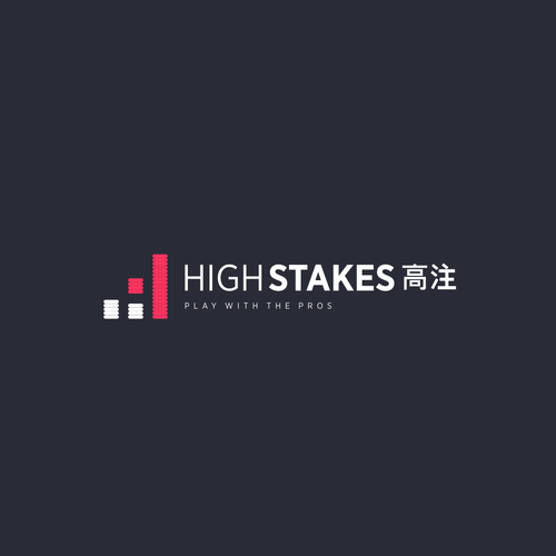 Casino logo with the title 'HighStakes'