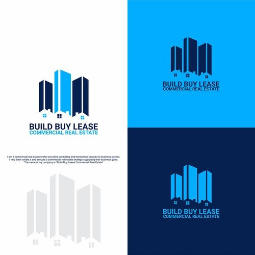 Commercial logo with the title 'LOGO FOR BUILD BUY LEASE'