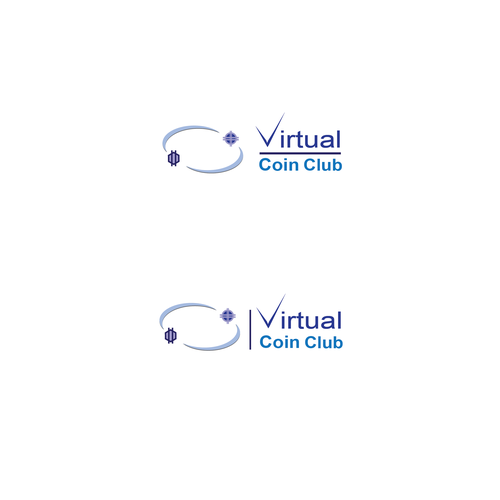 Virtual logo with the title 'Promoting the Collecting of Crypto Currency'