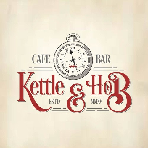 Watch logo with the title 'Kettle and Hob'