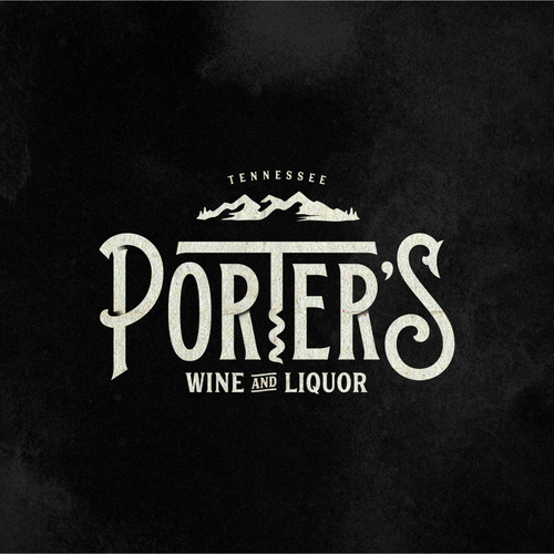 Liquor logo with the title 'Wine and Liquor store specializing in smaller high quality alcohoplic beverages and accessories.'