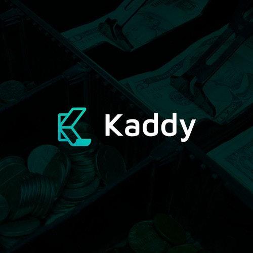K logo with the title 'Kaddy'