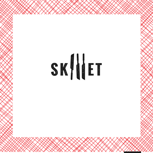 Food truck logo with the title 'Food truck logo for Skillet'