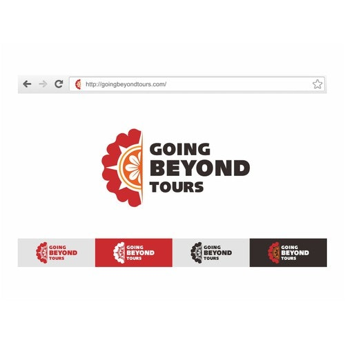 Indian logo with the title 'Going Beyond Tours'