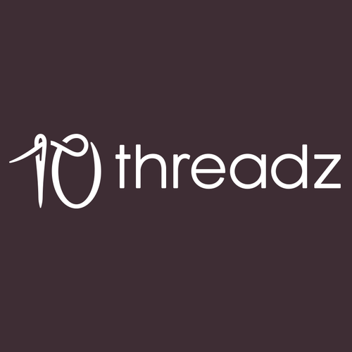 Needle logo with the title '10 Threadz'