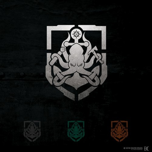 Kraken logo with the title 'Naval Insignia'