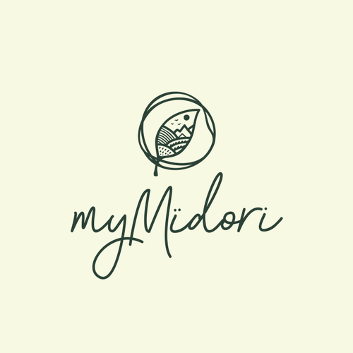Eco-friendly logo with the title 'Embracing nature🌿'