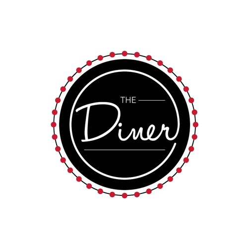 Diner logo with the title 'Logo needed for new contemporary diner restaurant.'