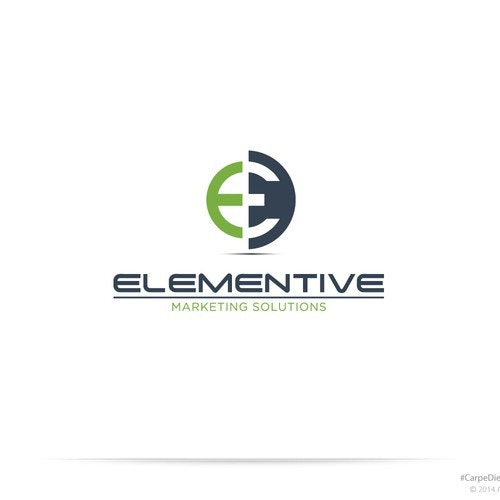 Awesome logo with the title 'Elementive'