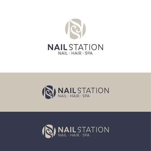 Relaxation logo with the title 'Nail Station'