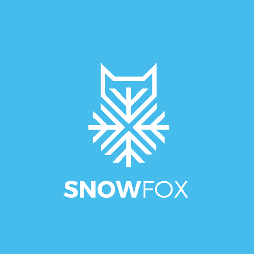 Snow logo with the title 'SnowFox'
