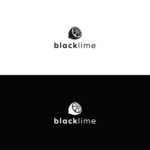 Lime logo with the title 'black lime'