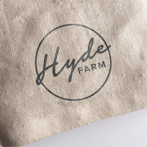 Delivery logo with the title 'Hyde Farm'