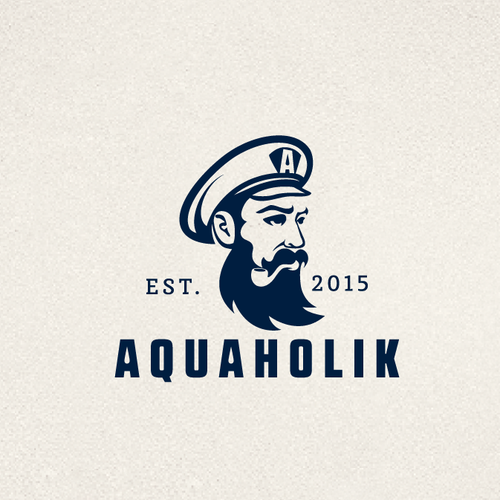Beard logo with the title 'Sailor logo'