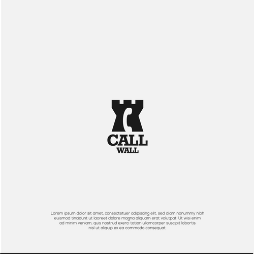 Wall logo with the title 'call wall'