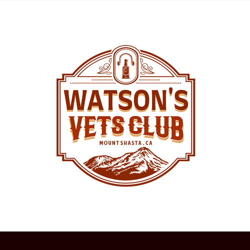 Liquor logo with the title 'Watsons Vets Club - Night club and Bar'