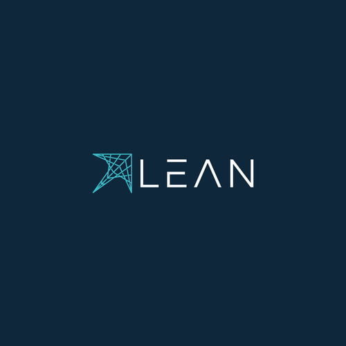 Clear logo with the title 'logo concept for LEAN'