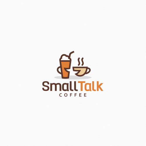 Chat logo with the title 'Coffee Logo'