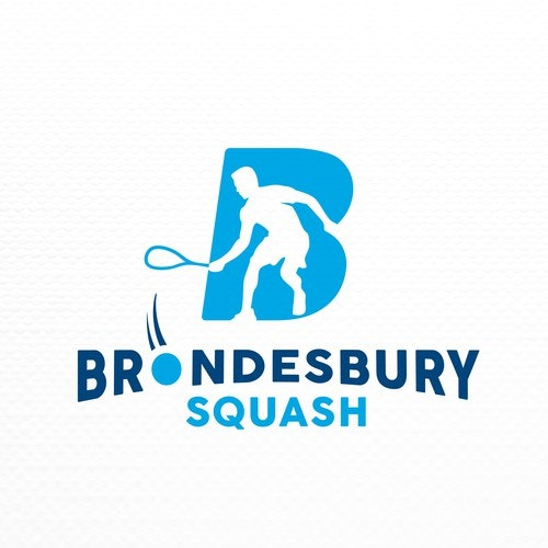 Tennis logo with the title 'Logo for Squash Club'