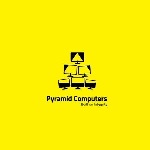 Pyramid logo with the title 'Pyramid Computers'