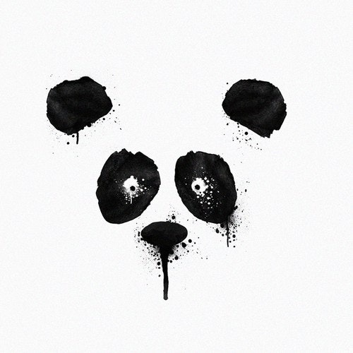 Kids' t-shirt with the title 'Inking Panda'