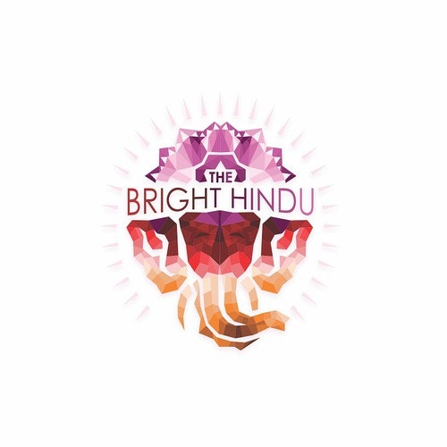 Mosaic logo with the title 'The Bright Hindu'