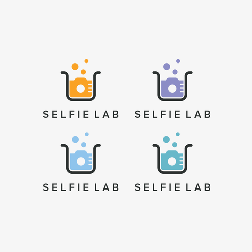 Camera logo with the title 'Selfie Lab'
