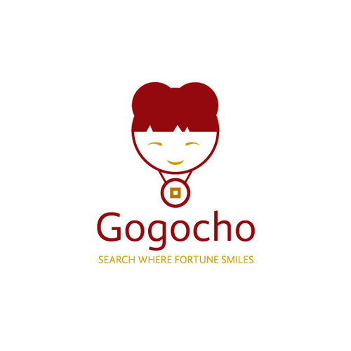 Chinese logo with the title 'GOGOCHO Logo'