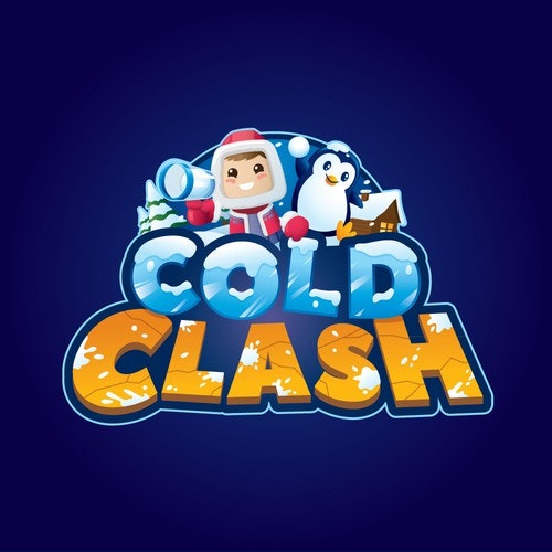 Cold logo with the title 'Logo for Mobile Game'