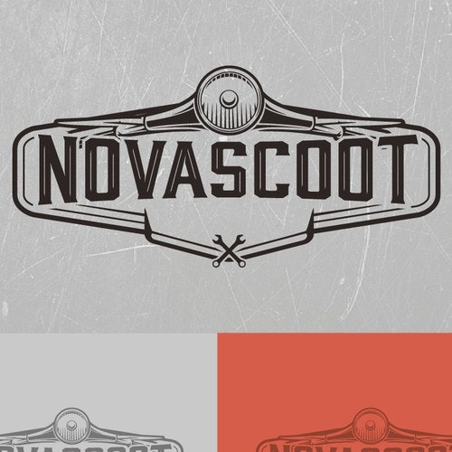 Mechanic logo with the title 'Novascoot'