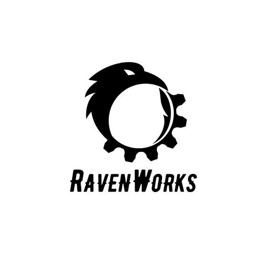 Crow logo with the title 'RavenWorks Entertainment'