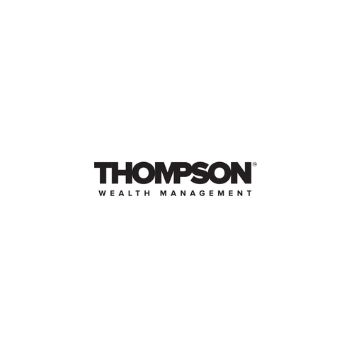 Wealth logo with the title 'Logo design for Thompson wealth management'