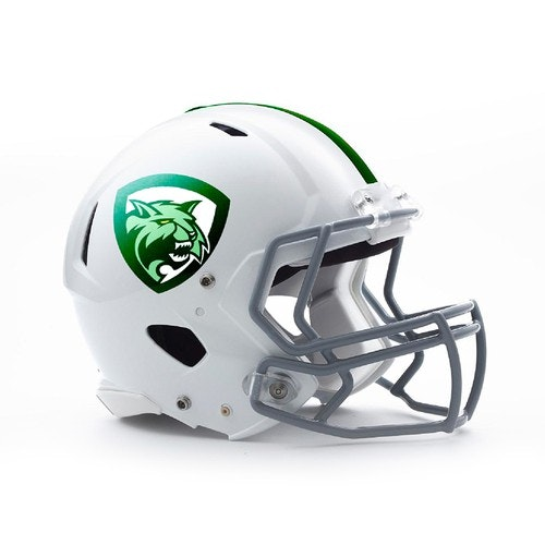 Positive logo with the title 'Create logo for American Football Team'