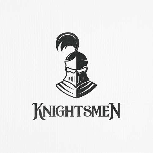Knight logo with the title 'Knightsmen Logo'