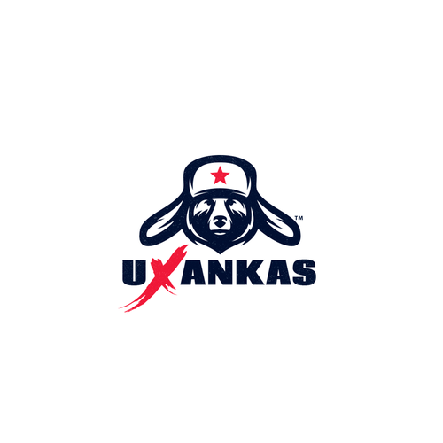 Hat logo with the title 'uXankas'