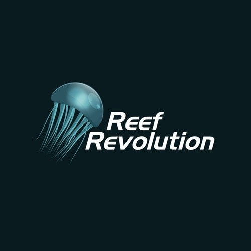 Coral logo with the title 'Reef Revolution'