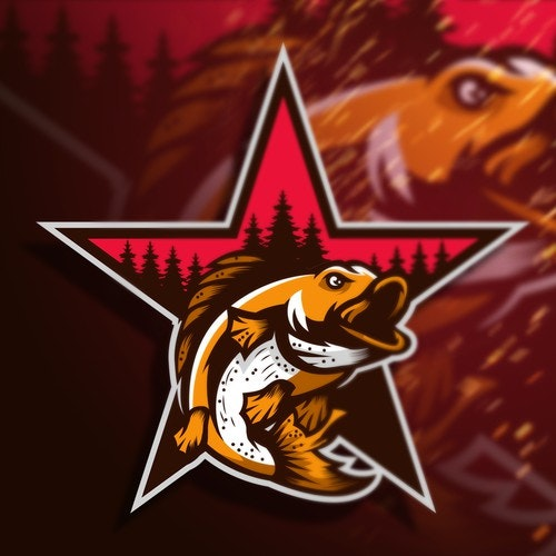 Esports logo with the title 'North Star Fishing Co.'