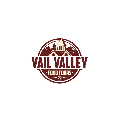 Village logo with the title 'Vail Valey Logo'