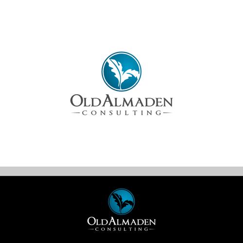 Oak leaf logo with the title 'logo for Old Almaden'